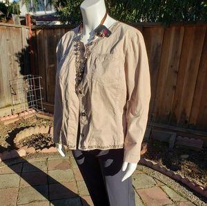 Women's Jacket with Embellishments | Size 24